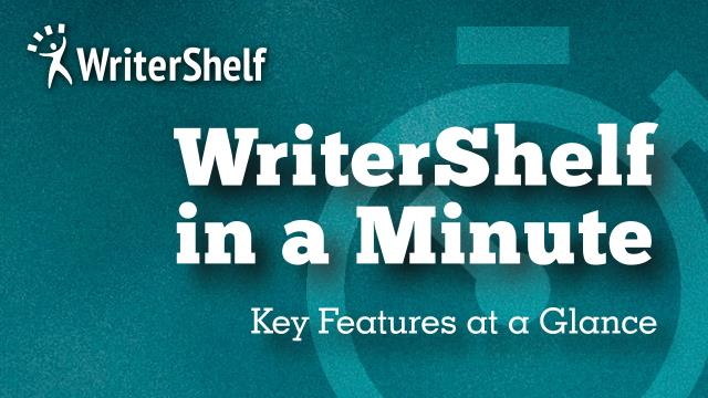 WriterShelf Banner 2